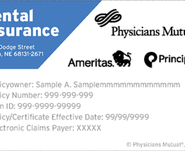 Dental Insurance Card